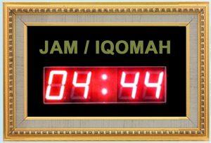 Jual-Jam-Digital-Masjid-Timer-Iqomah-Harga-Murah,LED Bandung