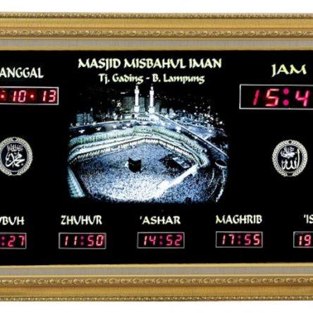 Jam Digital Masjid Penting untuk Ketepatan Waktu Sholat